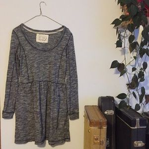 Anthropologie Long Sleeve Comfy Dress